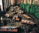 Mimmo Paladino, I Dormienti, 1998, Project for Arte all'Arte 3, Courtesy the artist and Associazione Arte Continua, Foto Ela Bialkowska