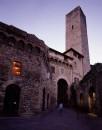Daniel Buren, Photo-souvenir: 'Il Soffitto Arlecchino / Griglia per cinque colori', lavoro in situ, Galleria Continua / San Gimignano, aprile 2003