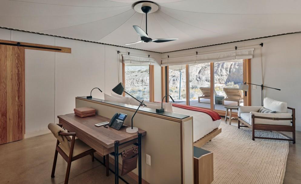 Amangiri, USA - Camp Sarika Tent 6 Bed