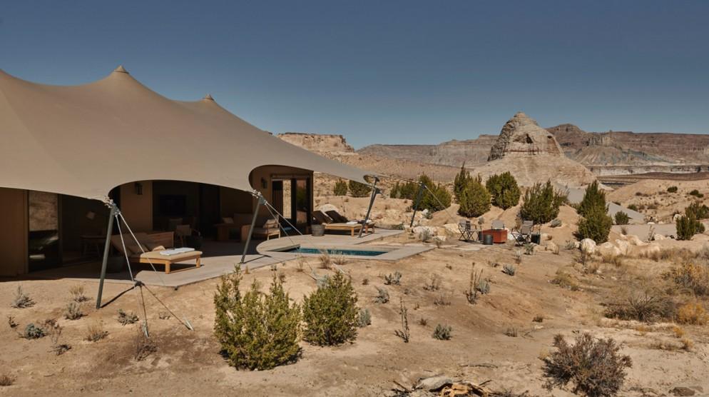 Amangiri, USA - Camp Sarika Tent 6 View