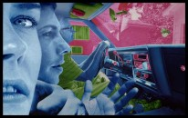 Foto Sandy Skoglund, True Fiction Two, Pink and blue car, Courtesy Paci contemporary gallery