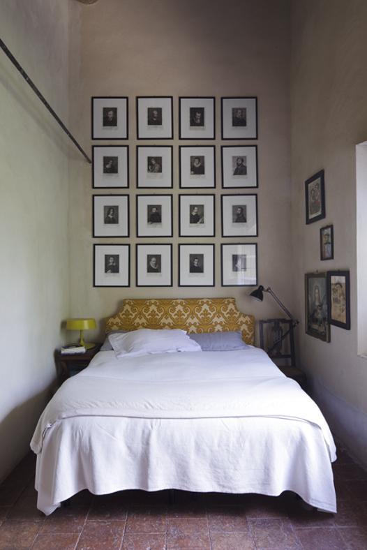 parete dietro letto quadri