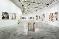 Jacopo Benassi. Vuoto, 2020. Installation view at Centro per l'arte contemporanea Luigi Pecci di Prato. © photo Ela Bialkowska, OKNOstudio