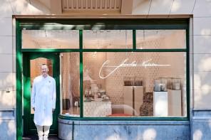 Charles Kaisin e la boutique con le pareti di carta igienica