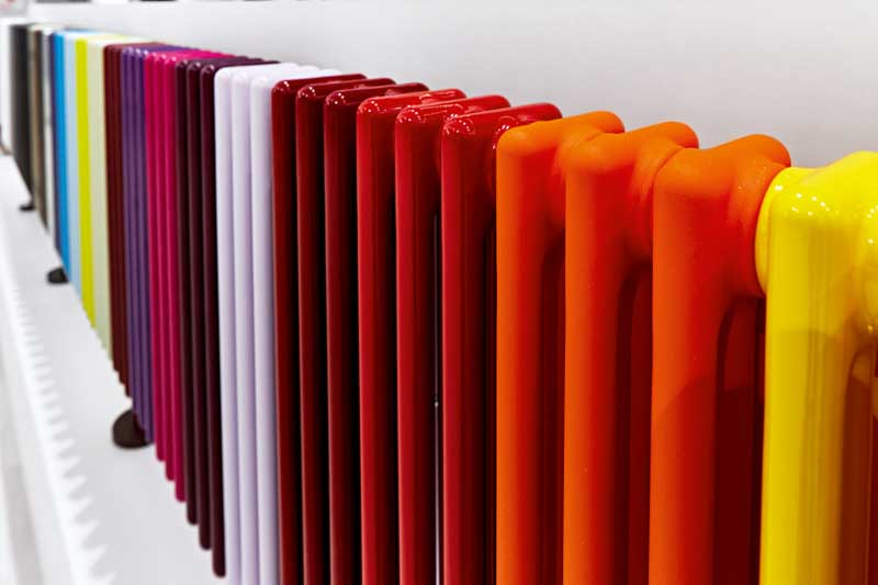 termosifoni design orizzontali Zehnder_RAD_Charleston_colours