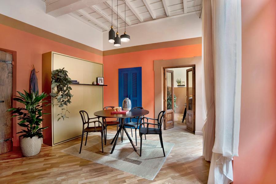 abbinare-colore-pareti-pavimento-ingresso_pranzo-1_StudioVenturoni_phBonichi_Trevi
