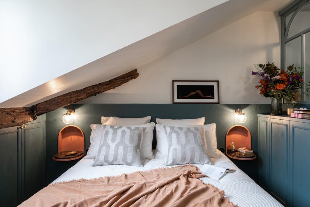bicolore camera letto