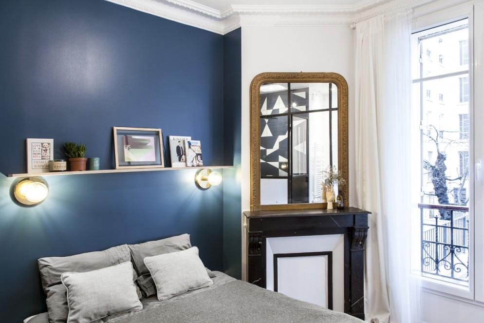 parete due colori angolo