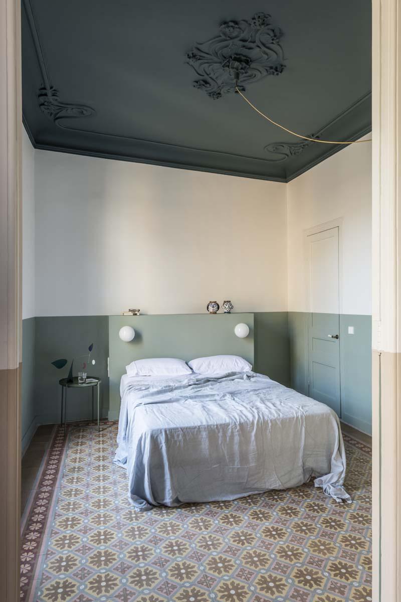 pareti colore letto