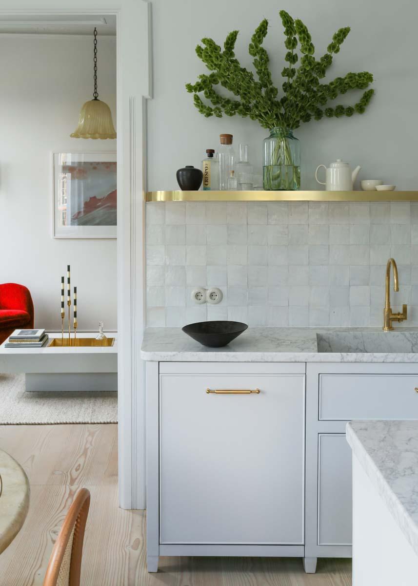 piastrelle cucina vintage cucina