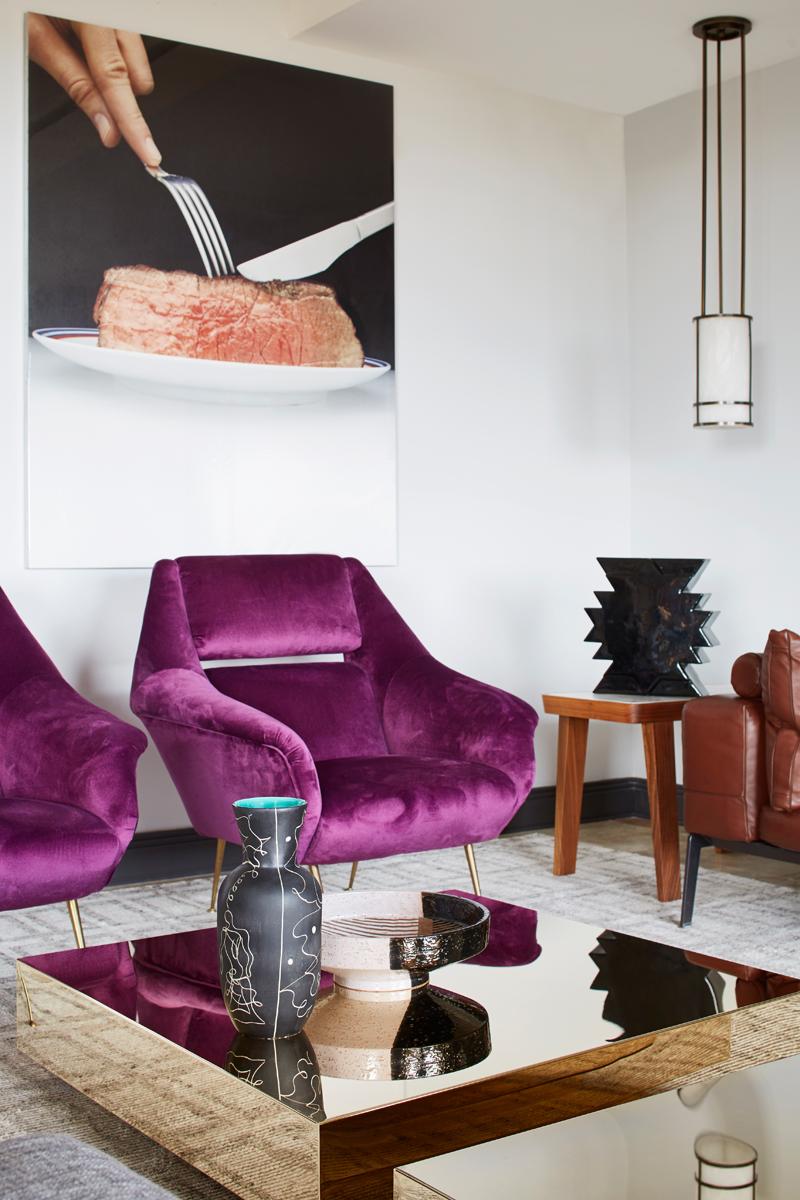 tavolino salotto decorare glam