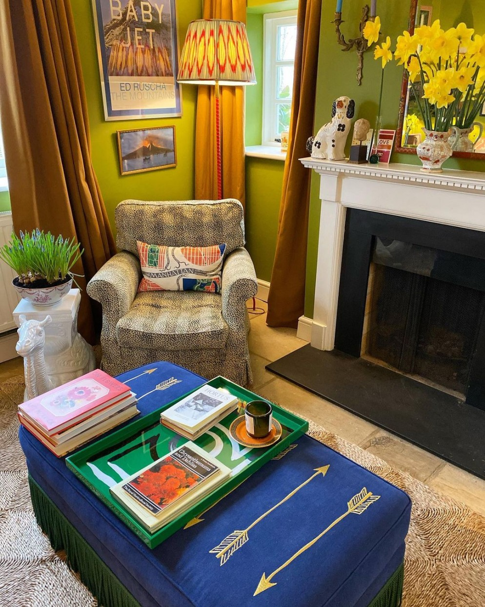 tavolino salotto decorare vassoio