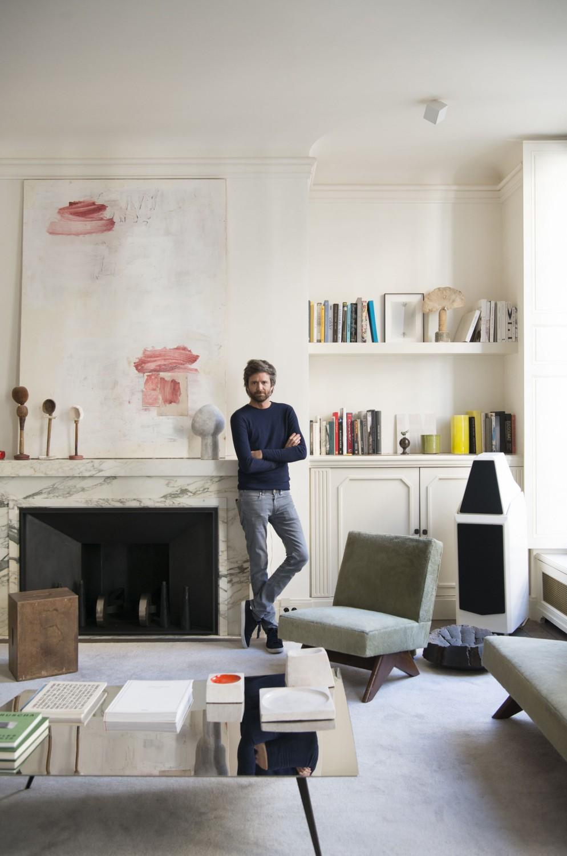 tavolino salotto decorazione minimal