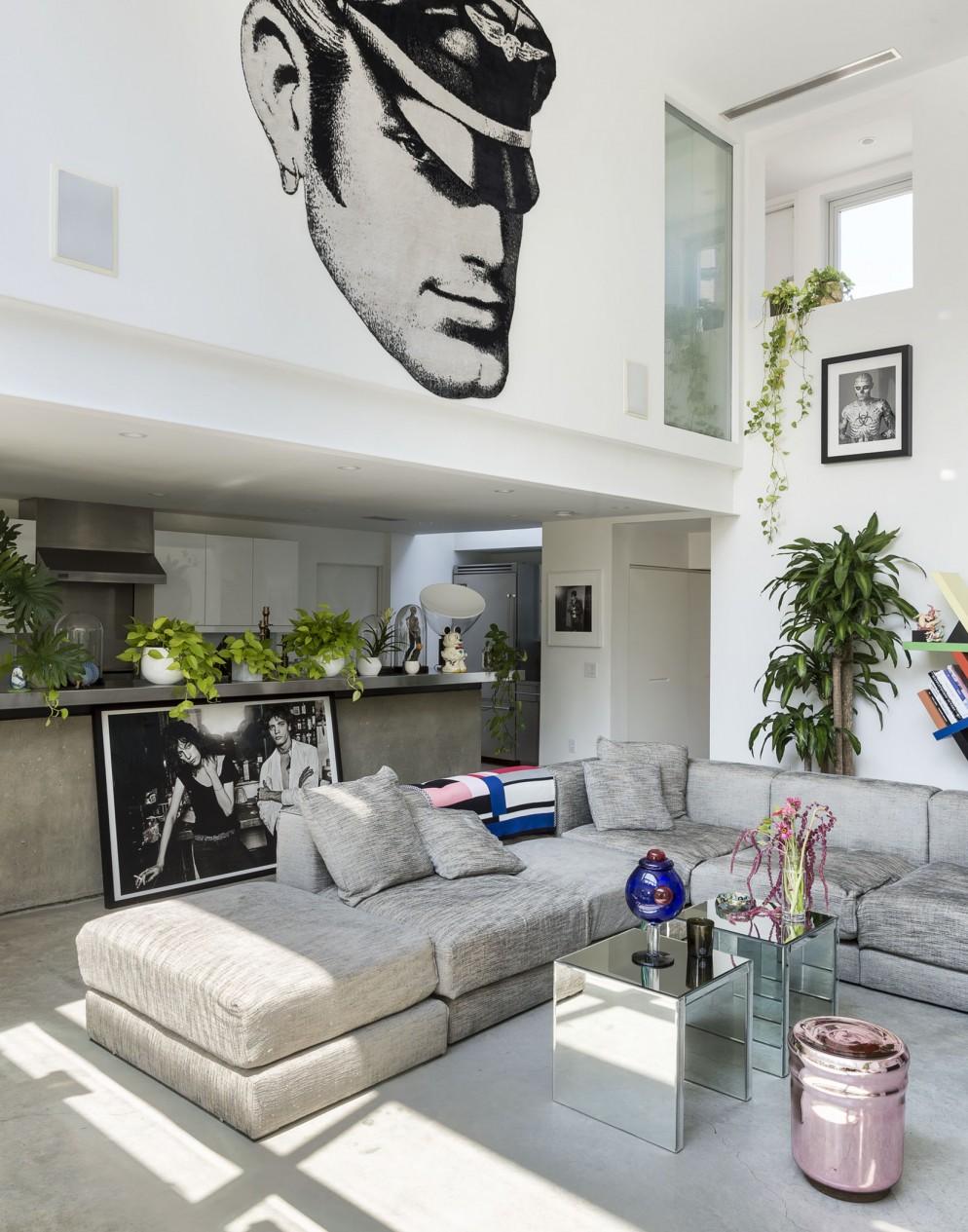 tavolino soggiorno decorare glam