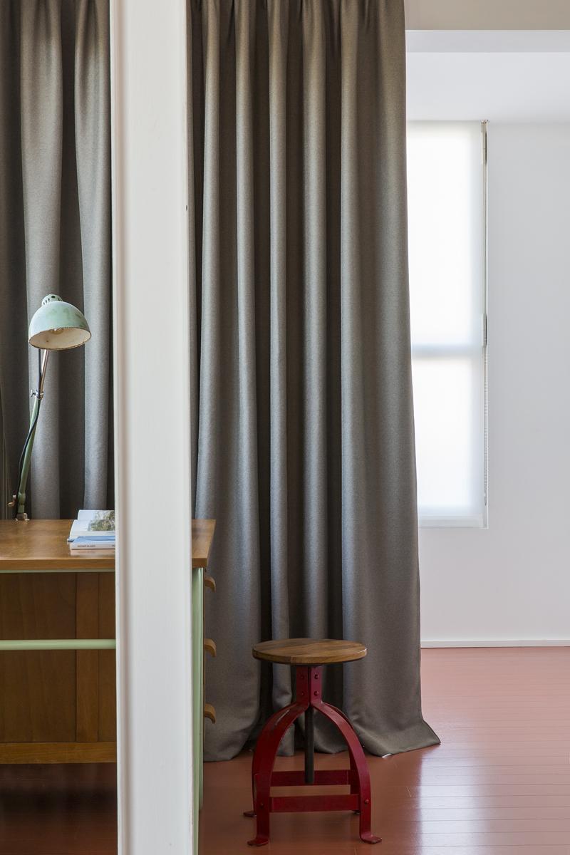 tende moderne salotto lunghe