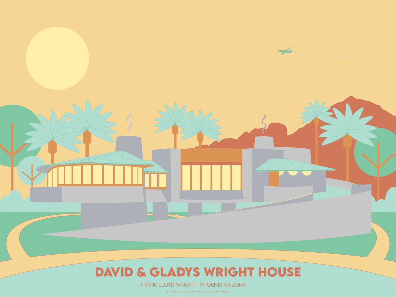 Frank Lloyd Wright, capolavori formato poster
