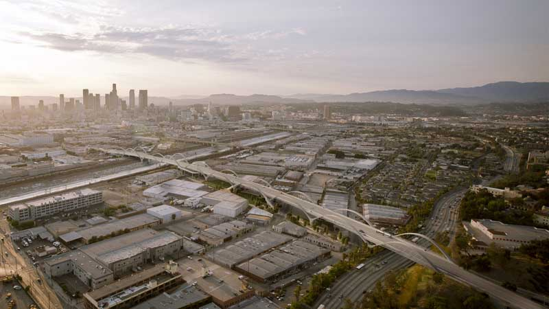 21_Across Borders_Maltzan_160108_6th Street Viaduct_Aerial_No Arch Stairs