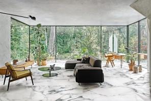 Florim: dal candore del marmo alle morbide venature dell'alabastro