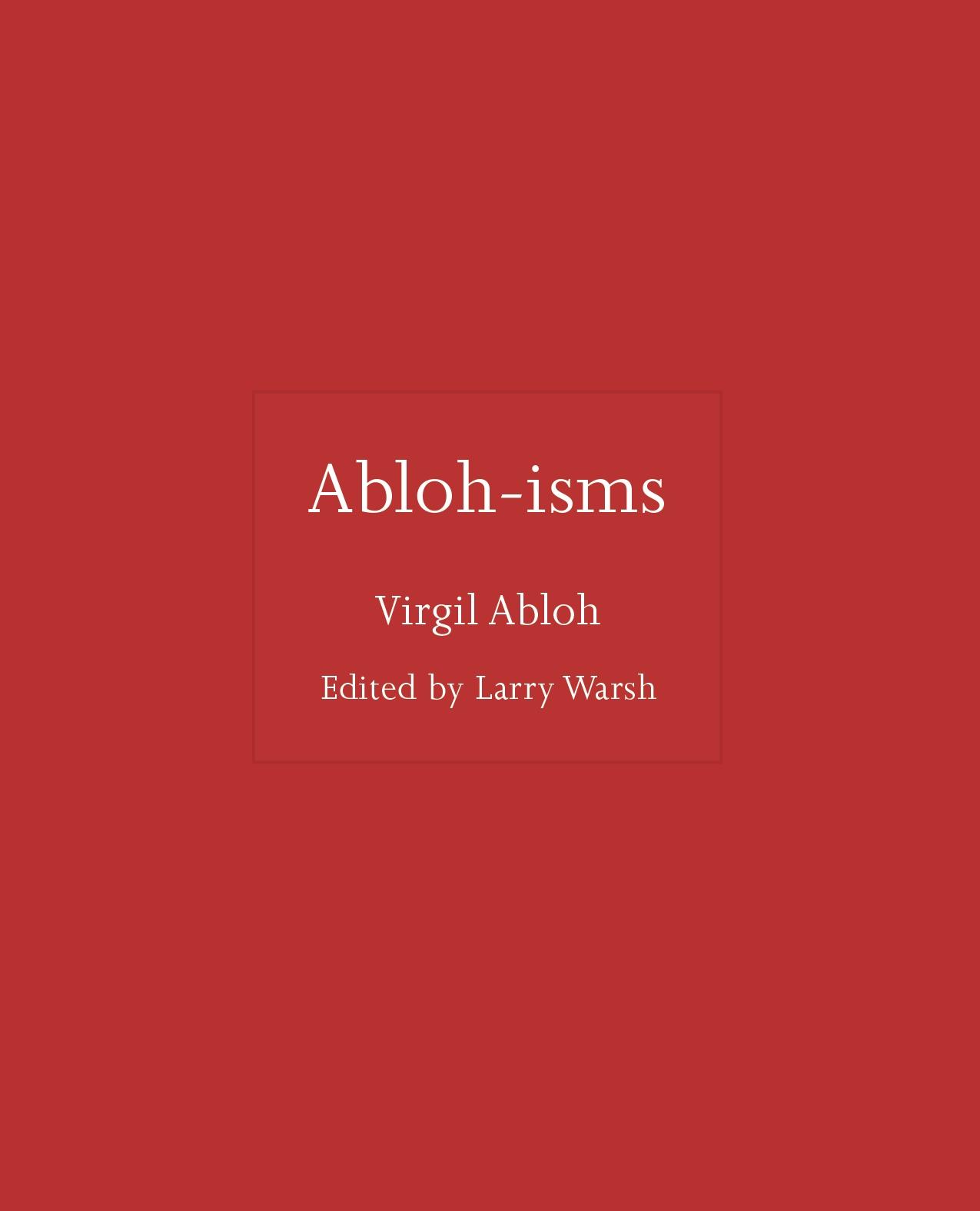 Cover Virgil Abloh