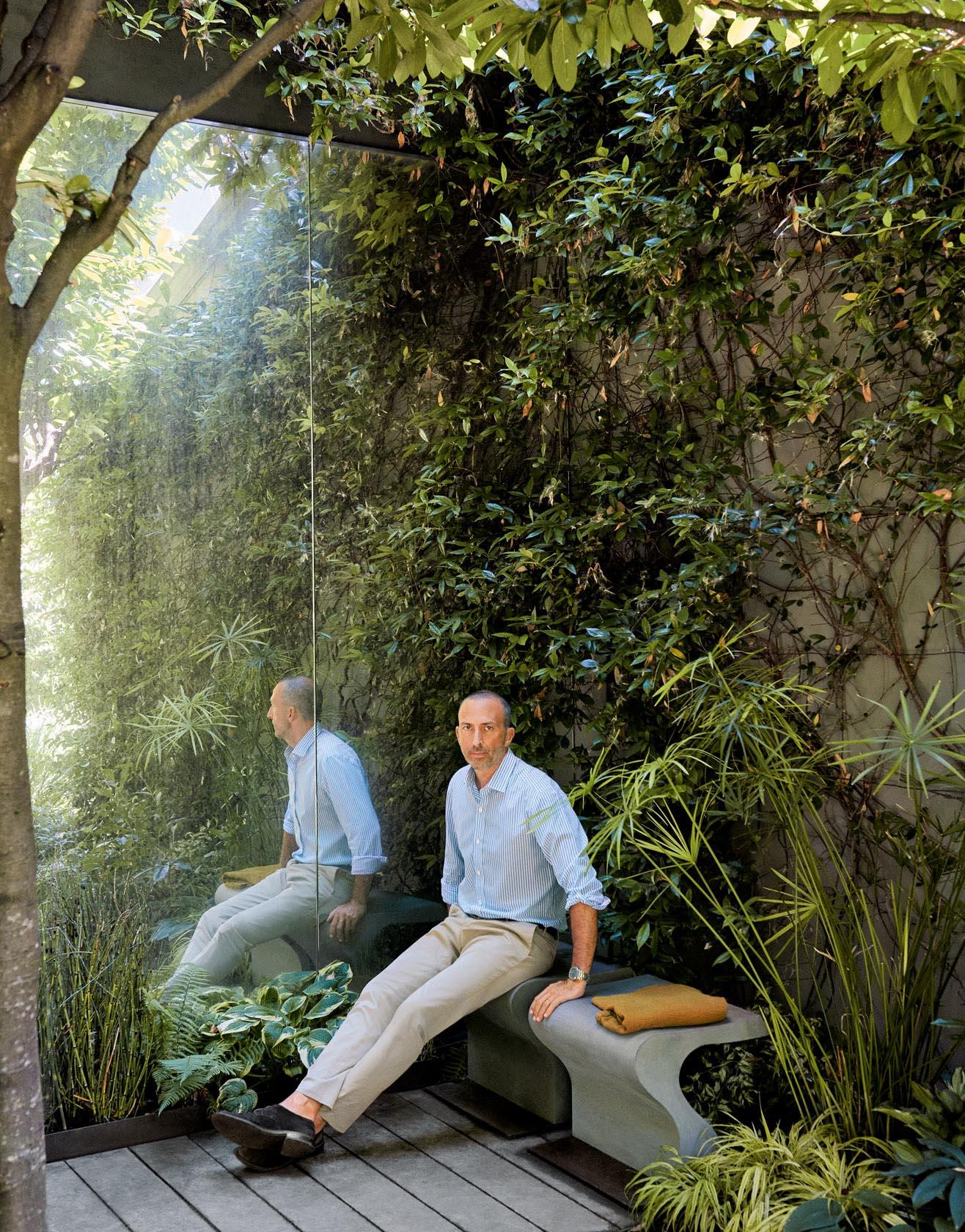 La casa (e il giardino meraviglioso) del signor Molino Pasini – Foto