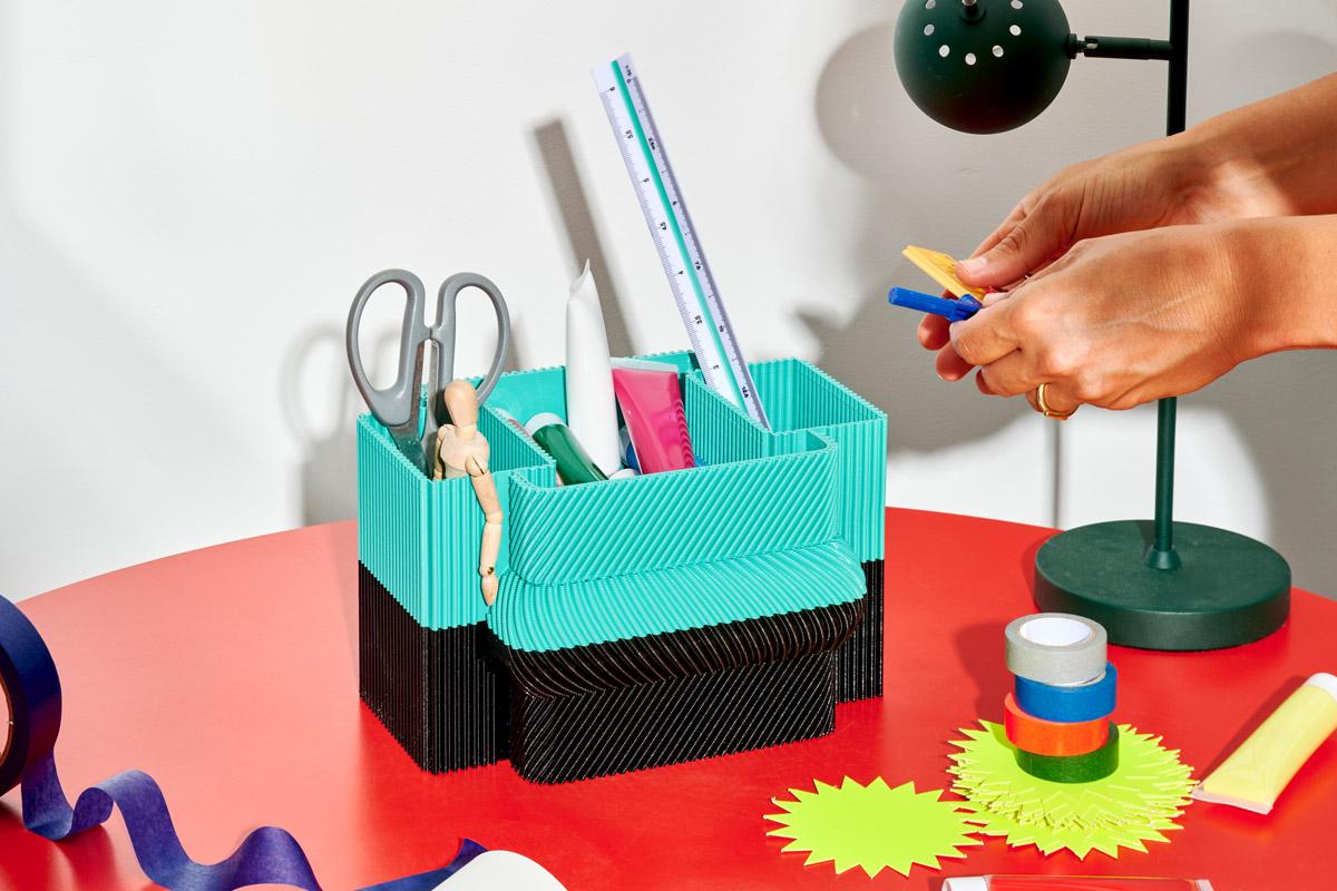 Gli accessori da scrivania di Paula Cademartori – Foto