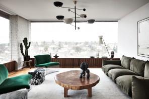 La casa nel bosco della designer Joanna Lavén