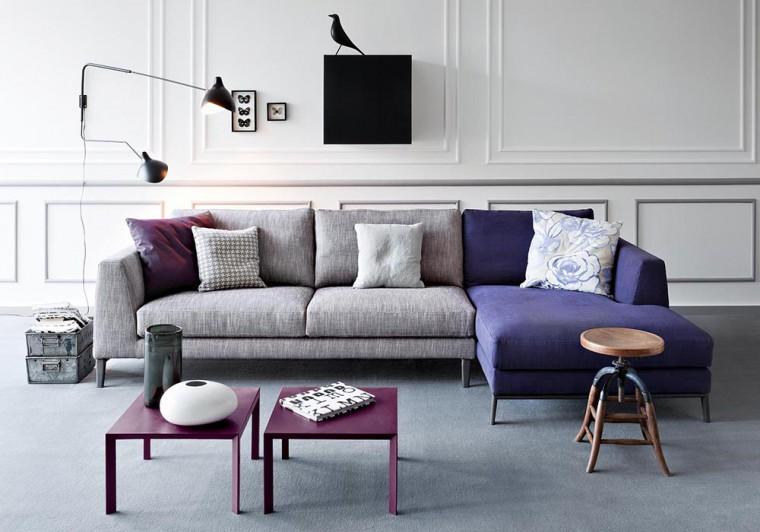divano-grigio-abbinare-cuscini-tappeto-TIME-divano-PIANCA-living-corriere