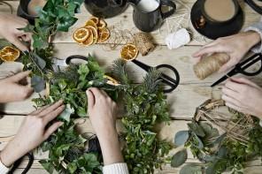 Ghirlande natalizie: idee fai da te e da acquistare online