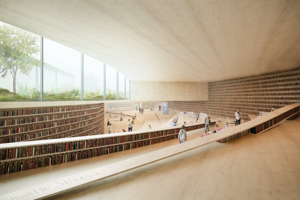 kengo-kuma-ibsen-library-norway-living-corriere-1-min