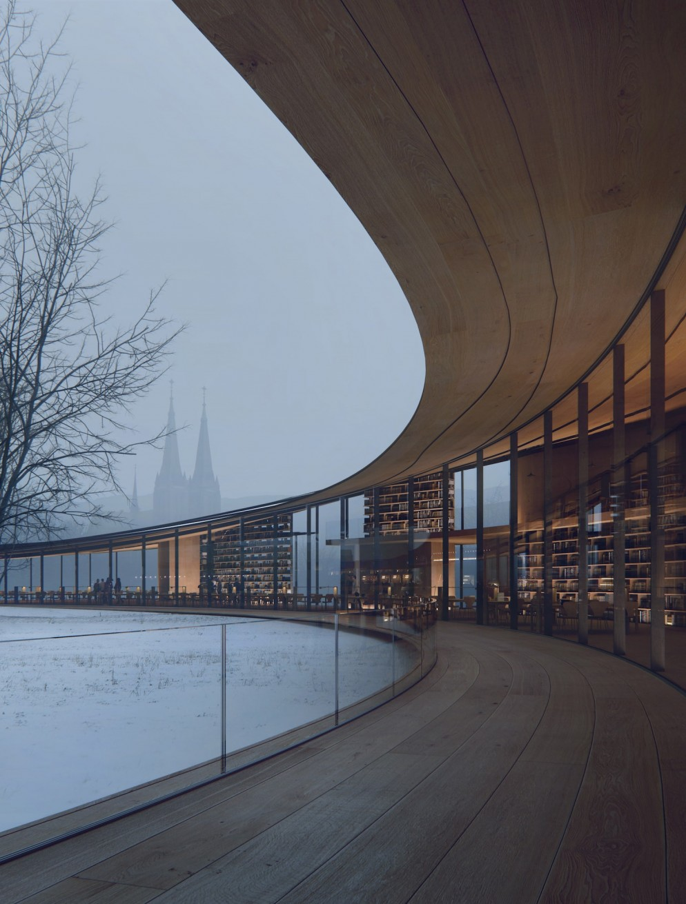 kengo-kuma-ibsen-library-norway-living-corriere-2-min