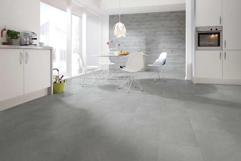 pavimenti pvc Moderna v-solid tile Sandstein grau