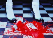 Miles Aldridge, A Drop of Red #2, 2001. © Miles Aldridge / Courtesy of Christophe Guye Galerie at Photo London