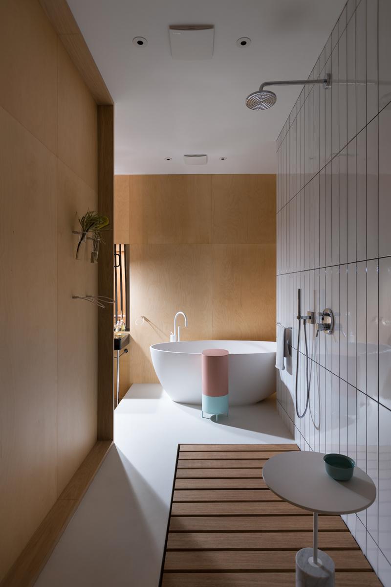 vasca bagno piccolo angolo