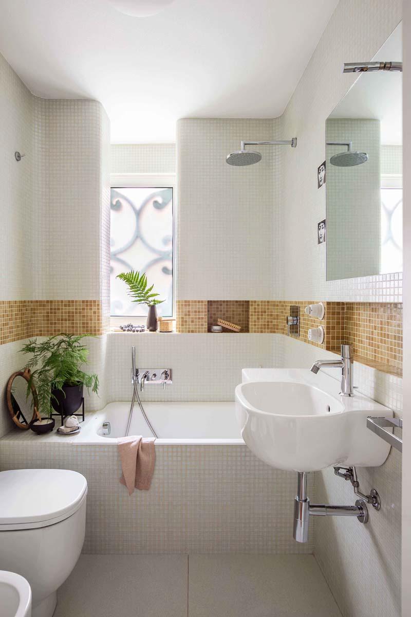 vasche piccole mosaico