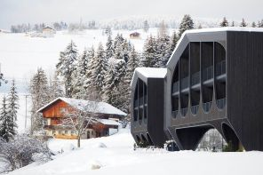 Un hotel radicale ridisegna l'architettura alpina