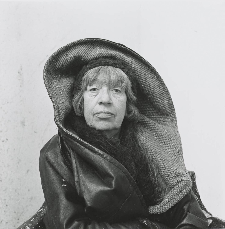 14. Photograph by Irving Penn Lee Krasner, Springs, NY, 1972 © The Irving Penn Foundation