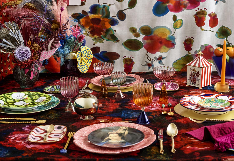 4 stili per la tavola delle feste