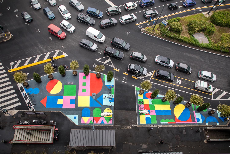 La street art di Camilla Falsini