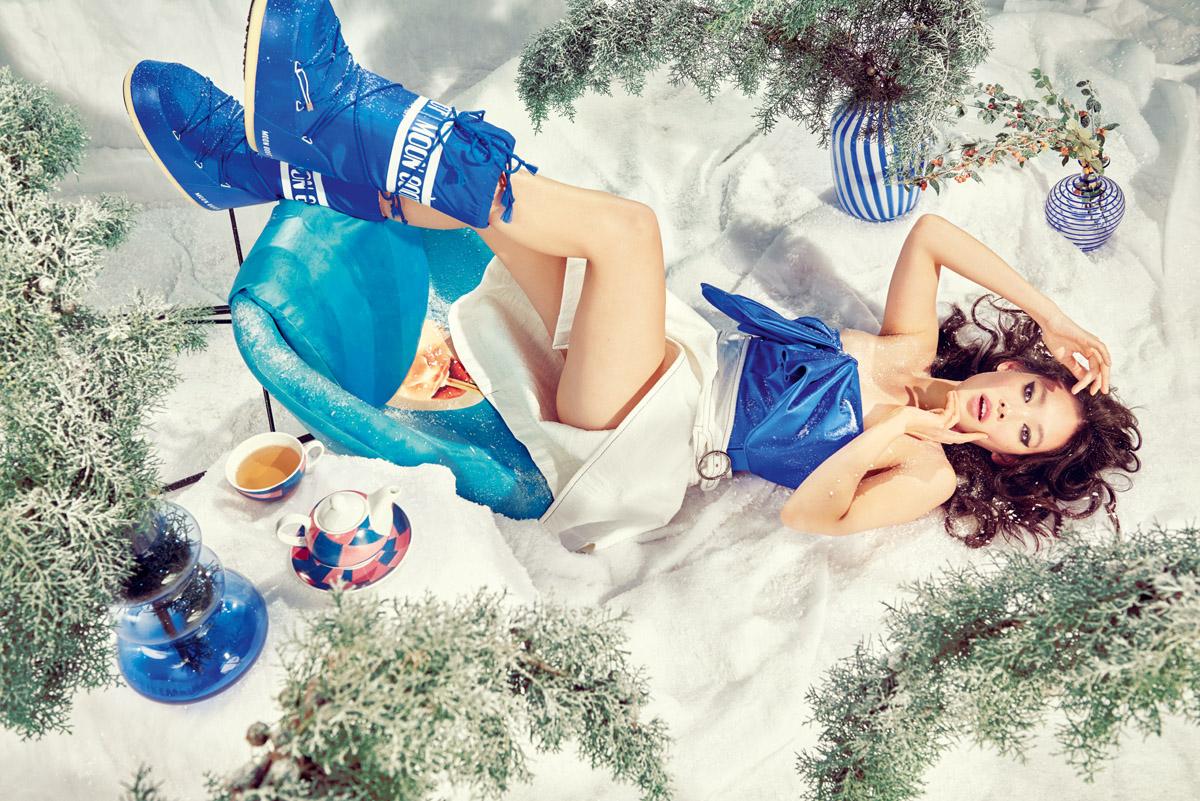 Snow party: abiti e arredi nella Living Room su YOOX