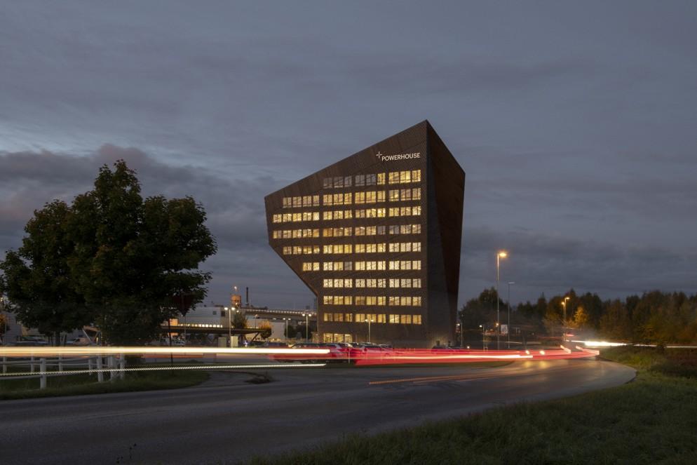 Powerhouse TelemarkSnøhettaPhoto: Ivar Kvaal