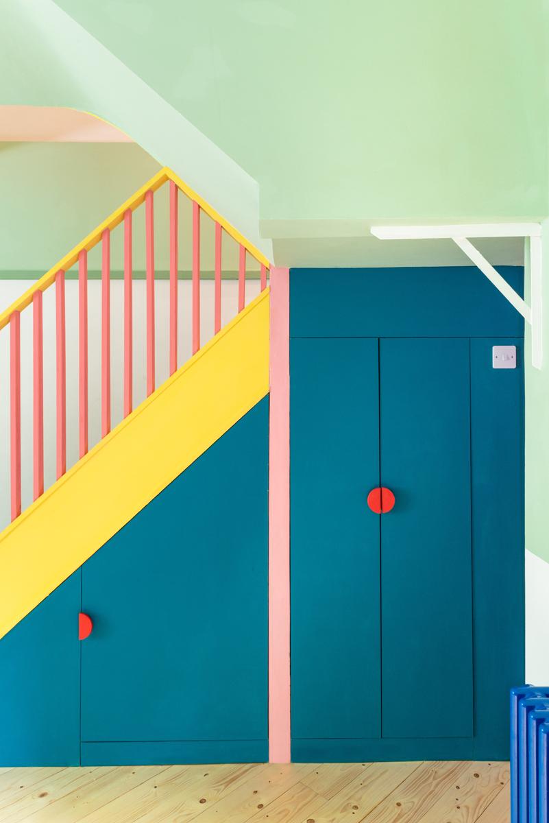 08 Stair Elevation © French + Tye