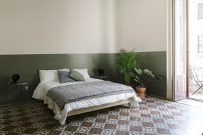 Pareti bicolor e pavimenti ultra décor