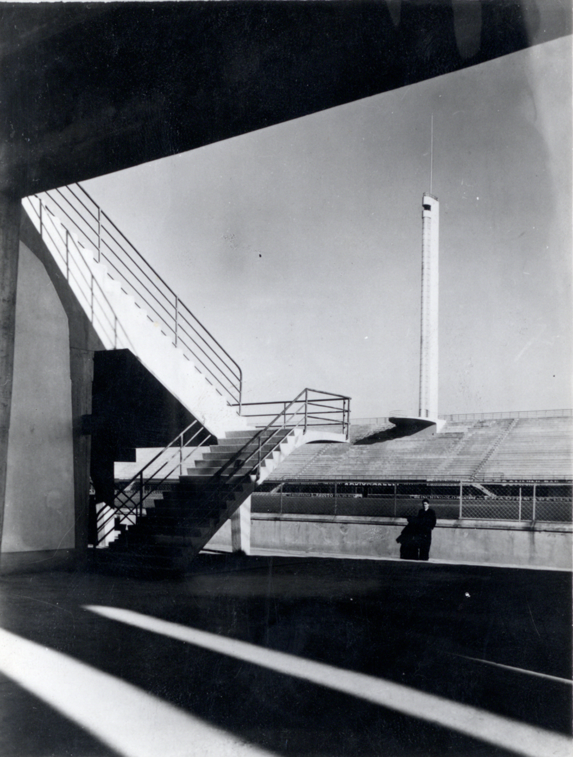 Foto Ferdinando Barsotti, Courtesy Pier Luigi Nervi Project Association, Bruxelles