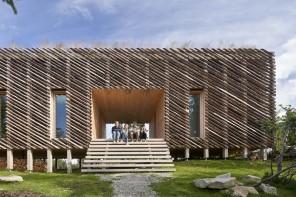 La baita in Norvegia degli architetti Mork-Ulnes