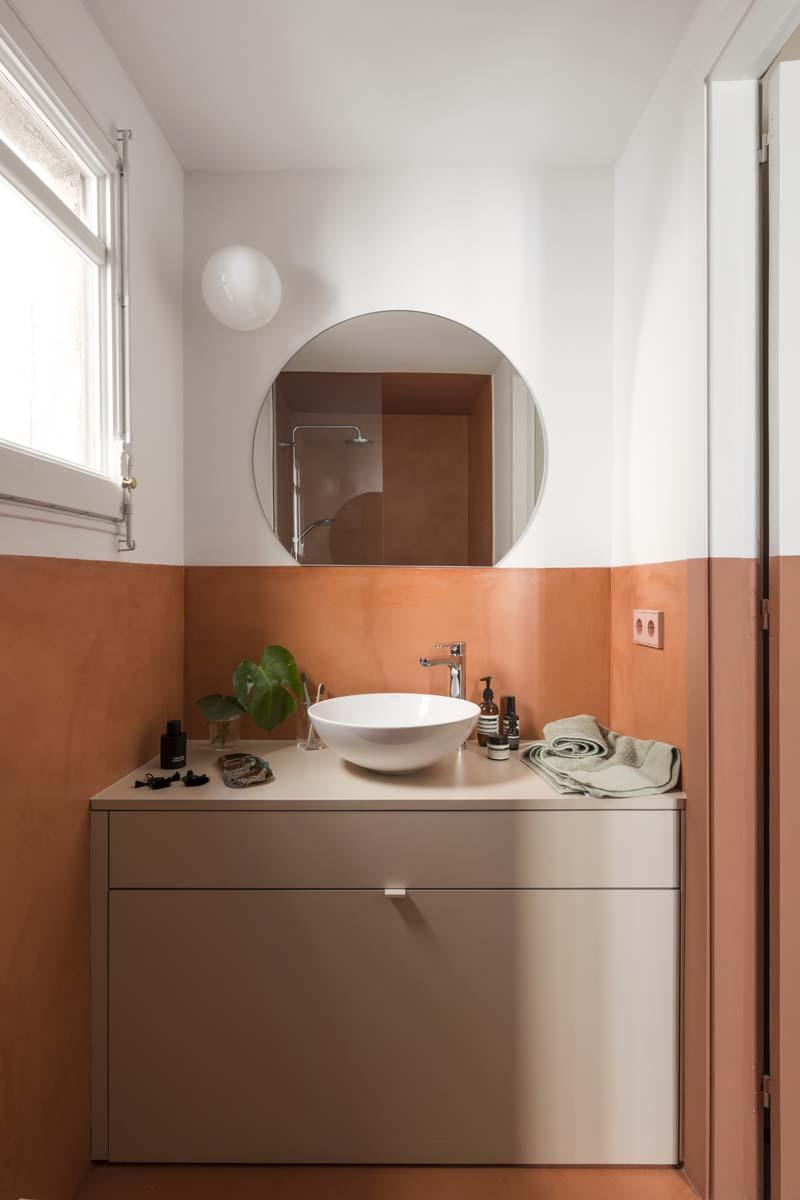 bagno moderno colore
