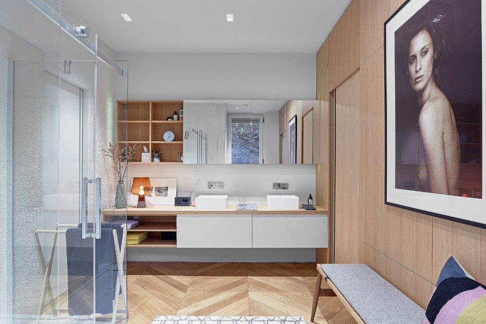 bagno moderno decorazione