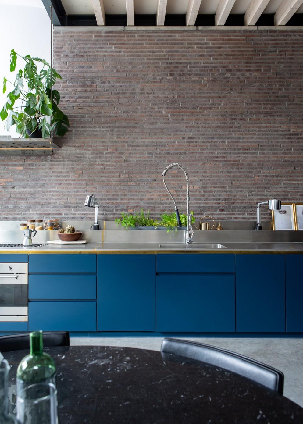 cucina moderna idee colore