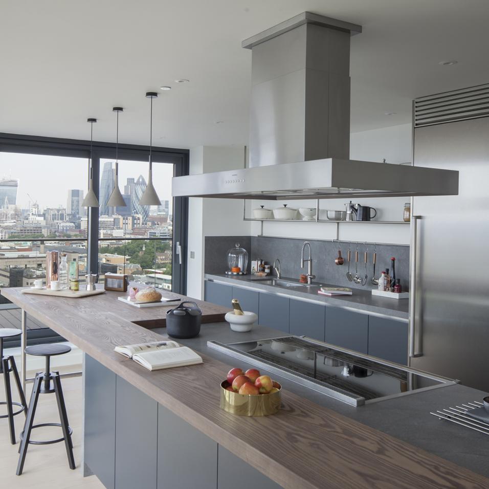 cucina moderna idee legno