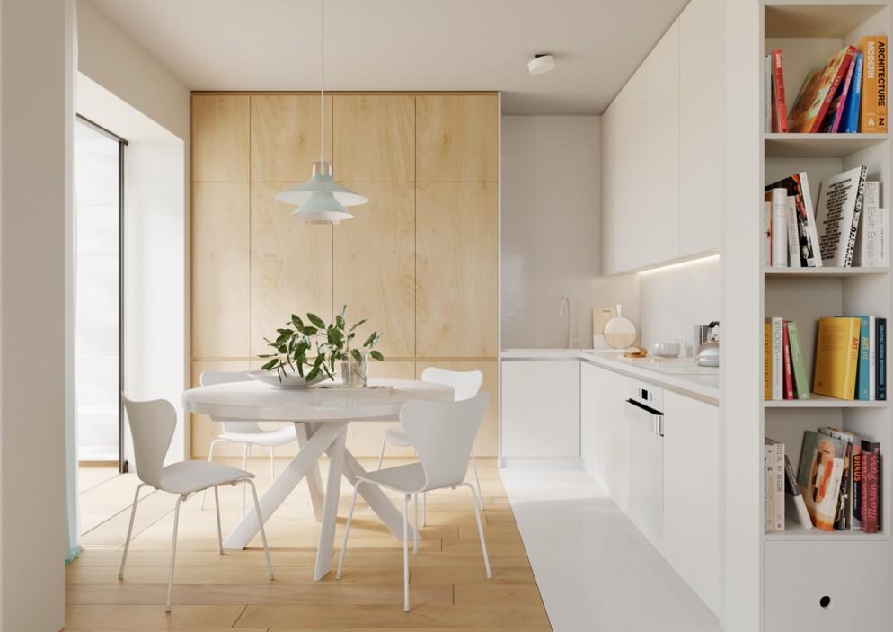 cucina moderna idee pavimento