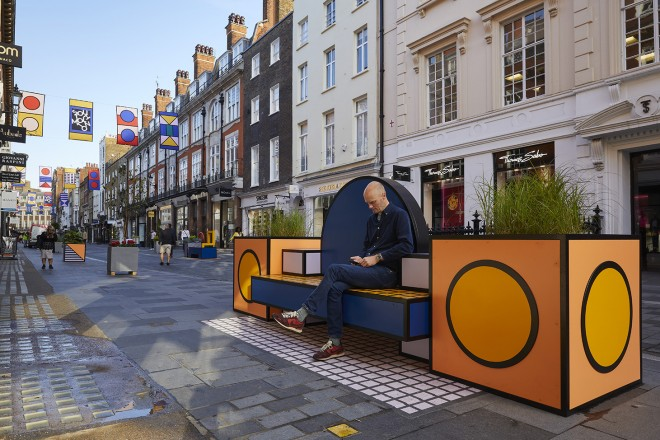 Walala Lounge al London Design Festival 2019 Foto © Andy Stagg Photography